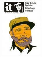 @@@ MAGNET - International Times No36, Fidel Castro - Publicitaires