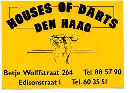 Den Haag House Of Darts Autocollant Sticker Sport - Autocollants