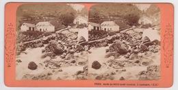 Stereoscopische Kaart.    Bains Du Petit-Saint-Sauveur à Cauterets (J.A) - Cartes Stéréoscopiques
