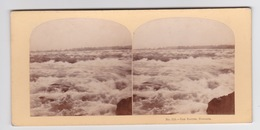 Stereoscopische Kaart.    The Rapits ,Niagara - Cartes Stéréoscopiques