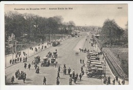Exposition De Bruxelles 1910 - Avenue Emile De Mot - Belgien