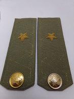 Insigne Militaire Soviétique/Russe - Général-Major De Brigade (Fourreaux D'épaulettes)- Military Badges P.V. - Uniformes