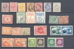Importante Lote De Sellos De Varios Años - Surinam