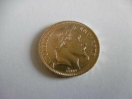 JOLIE PIECE DE 20 FRS EN OR - NAPOLEON III  - TETE  LAUREE  ANNEE : 1864 A - Or