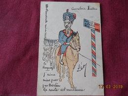 CPA - Cavalerie Fantôme - Le Kronprinz - Humour