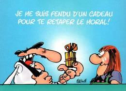 CPM - BD LES BIDOCHONS - BINET - Fluide Glacial 1997 - Edition Cartoon Collection - Bandes Dessinées