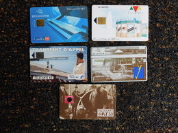 10 Télécartes - Verzamelingen