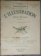 L'Illustration 4098 17 Septembre 1921 Vendanges Béziers/Expédition Mont Everest/Charlie Chaplin/Brillat-Savarin/Paris - L'Illustration