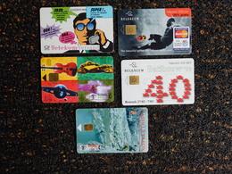 10 Télécartes - Télécartes