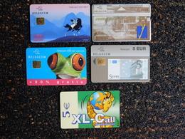 7 Télécartes - Télécartes