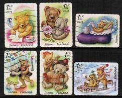 2014 Finland, Teddy Bears, Complete Set Used. - Finlande