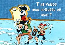 CPM - BD GOTLIB - Fluide Glacial - Edition Cartoon Comic Strips - Bandes Dessinées