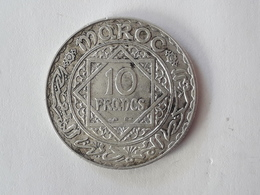 10 Francs Maroc Empire Chérifien 1934 1352 - Maroc