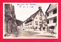 E-Allemagne-665A88 Carte Photo, Hornberg, Partie Beim Rahtaus, Souvenir De Hornberg, Cpa - Hornberg