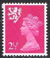 Scotland SG S14 1971 2½p (PVA Gum) Unmounted Mint [16/15186/25D] - Regional Issues