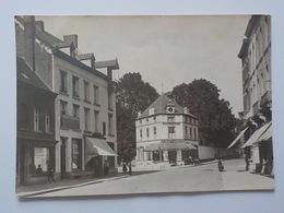 1921 CP Grand Format Soignies Café Belle-Vue Gilmant Judico Café Thomas Photo Legast Soignies - Soignies
