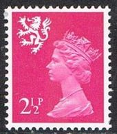 Scotland SG S14Eg 1972 2½p (GA Gum) Unmounted Mint [16/15187/25D] - Regional Issues