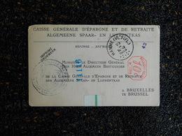 Caisse Générale D'épargne Et De Retraite, Extrait D'un Acte De Naissance, 1933   (H7) - Vieux Papiers