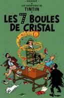CPM - BD Aventures De TINTIN - Les 7 Boules De Cristal - HERGE - Edition Moulinsart - Bandes Dessinées