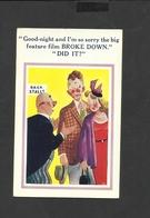 Vintage Sunshine Comic Postcard 5200 Unposted - Humour