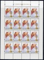 POLAND 1995 Pope John Paul II Sheet MNH / **  Michel 3536 - Full Sheets