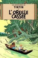 CPM - BD Aventures De TINTIN - L'Oreille Cassée - HERGE - Edition Moulinsart - Bandes Dessinées