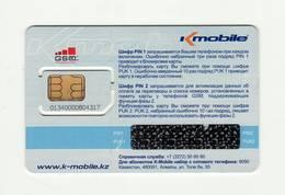 KAZAKHSTAN K-Mobile GSM SIM MINT - Kasachstan