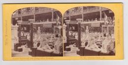 Stereoscopische Kaart.   The International Exhibition Of 1862.      Grecian. Court - Cartes Stéréoscopiques