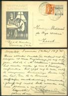 Nederland 1933 Briefkaart G 233 Met 2 Cent Toeslag Voor Het Nationaal Crisiscomité Van Someren Naar Zeist - Entiers Postaux