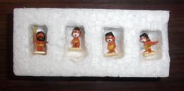 Lot De 4 Mini Figurines Schtroumpfs - Figurines