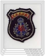 """Badge à Coudre """" Fédération Syndicale Francophone Police Belge Avant Fusion 2001 - Polizei"""