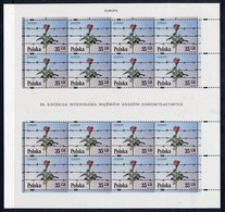 POLAND 1995 Europa: Peace And Freedom Sheets MNH / **  Michel 3533-34 - Blocks & Sheetlets & Panes