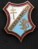 DIOCESI DI BRESCIA - L.FASSINO TORINO C.SO VITTORIO EMANUELE 98 INC.- ORIGINALE ANNI'30 - Associazioni