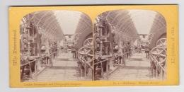 Stereoscopische Kaart.   The International Exhibition Of 1862.     Machinery - Cartes Stéréoscopiques