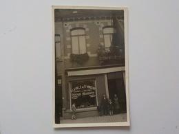 Début 1900 CP Photo Soignies A La Ville De Saint Vincent Maison Nechelput Jardin De Valence - Soignies
