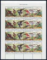 POLAND 1994 Aquarium Fish Sheet MNH / **  Michel 3505-08 - Blocks & Sheetlets & Panes