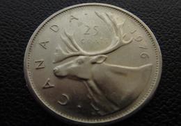 Canada, Elizabeth II, 25 Cents, 1976 , Royal Canadian  Nickel CIRCULATED - Canada
