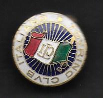 C.T.I.  - TOURING CLUB ITALIANO- EMILIO PAGANI MILANO VIA BRIOSCHI INC. - ORIGINALE ANNI'30 - Associazioni