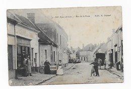 CPA 28 BU Rue De La Poste 1918 Port Simple Gratuit - Autres Communes