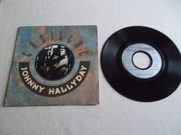 VINYLE 45 T JOHNNY HALLYDAY CADILLAC PHILIPS 875 416 7 - Rock
