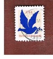 "STATI UNITI (U.S.A.) - SG 2976  - 1995   PEACE DOVE, NO VALUE, ""G"" RATE    - USED - Used Stamps"