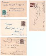 93 Cover Romania  Kolozsvar Budapest Nagysdgos Szekelyudvarhely Bibarcfalver - 1948-.... Républiques
