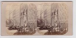 Stereoscopische Kaart. The Chystal Palace Art Union Of 1859.   Entrée Du Palais L'Allambra - Cartes Stéréoscopiques