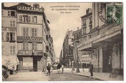 CLERMONT FERRAND (63) - Rue Neuve - PHARMACIE DU DOCTEUR GESSEN - Ed. E. L. D. - Clermont Ferrand