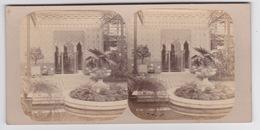 Stereoscopische Kaart. The Chystal Palace Art Union Of 1859.   Entrée De L'Allambra - Cartes Stéréoscopiques