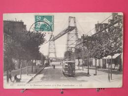 76 - Rouen - Le Boulevard Cauchois Et Le Pont Transbordeur - 1908 - Scans Recto-verso - Rouen