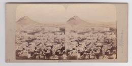 Stereoscopische Kaart. Panoramic View Of ATHENS. - Cartes Stéréoscopiques