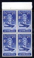 QUS103 - AUSTRALIA 1958 , Posta Aerea Il N. 11  In Fresche Quartine ***  (2380A) . - Unused Stamps