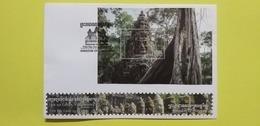 CAMBODGE / CAMBODIA/  FDC Block CAMBODIA Of Wonder 13 - 03 - 2019. - Cambodge