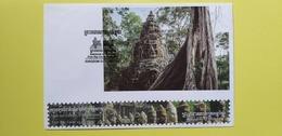 CAMBODGE / CAMBODIA/  FDC Block ( Imperf ) CAMBODIA Of Wonder 13 - 03 - 2019. - Cambodge